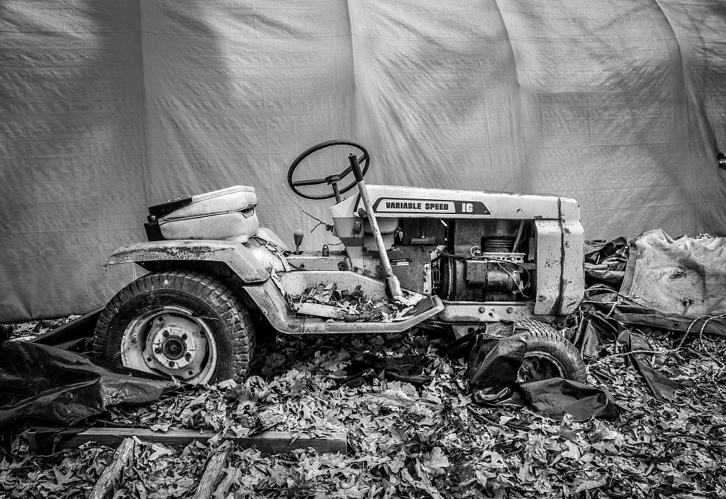 Neglected Tractor